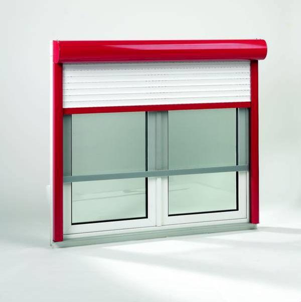 fenster mit rolladen und insektenschutz. Black Bedroom Furniture Sets. Home Design Ideas