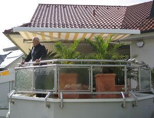 Balkon Markisen - Dekofactory Balkon Markisen Sonnenschutz