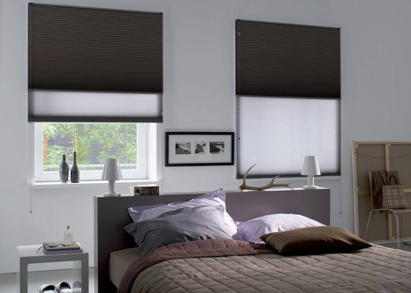 schlafzimmer mit verdunkelung dekofactory. Black Bedroom Furniture Sets. Home Design Ideas