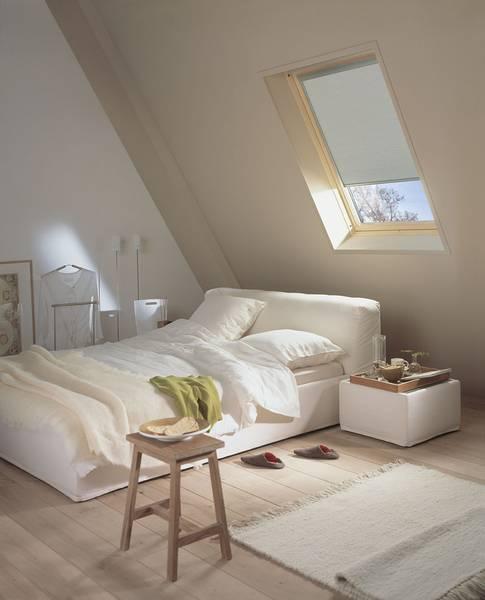 Dachfenster Rollo Im Schlafzimmer