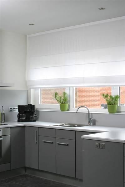 Küche Mit Sicht- Und Sonnenschutz - Dekofactory