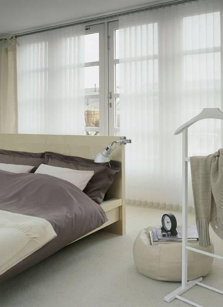 Schlafzimmer mit Verdunkelung - Dekofactory