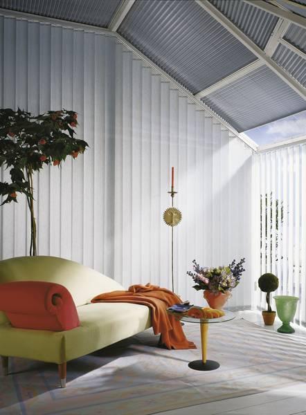 Wintergarten mit Hitzeschutz - Dekofactory