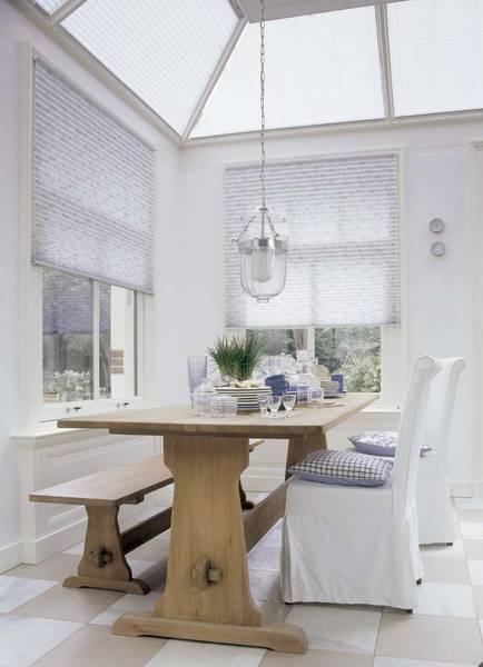 wintergarten mit hitzeschutz dekofactory. Black Bedroom Furniture Sets. Home Design Ideas