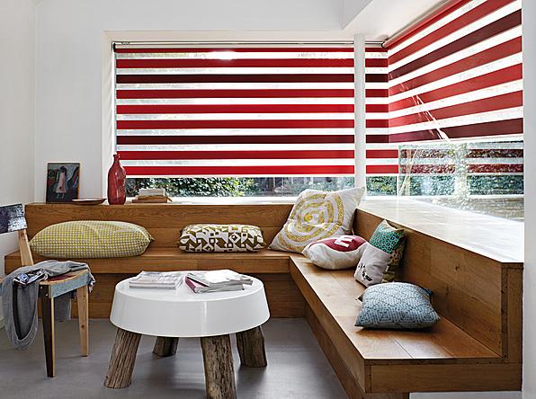 doppelrollos dekofactory. Black Bedroom Furniture Sets. Home Design Ideas
