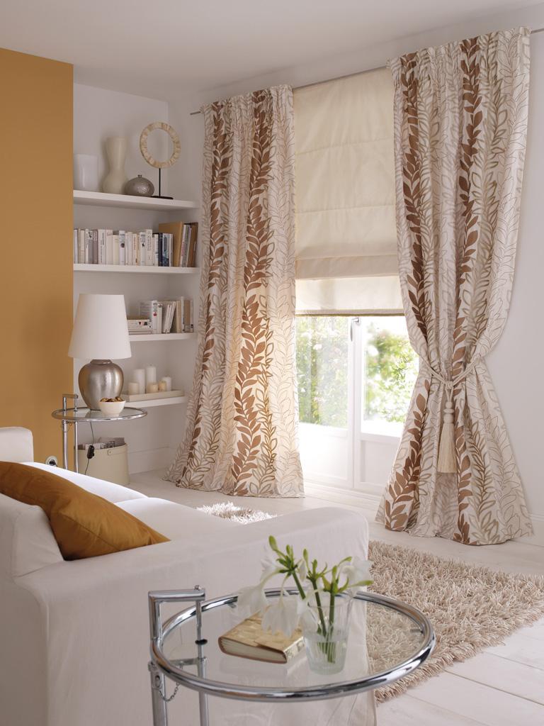 Vorhänge und Gardinen im Wohnzimmer