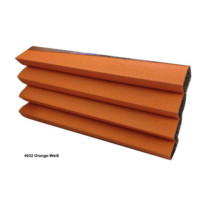 4032 Orange-Weiß