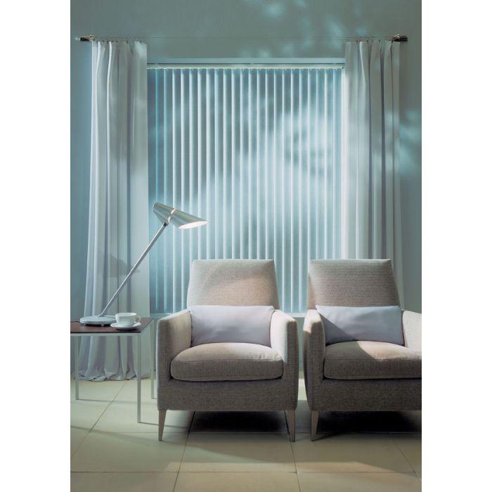 Mass Vertikallamellen im Wohnraum von Dekofactory