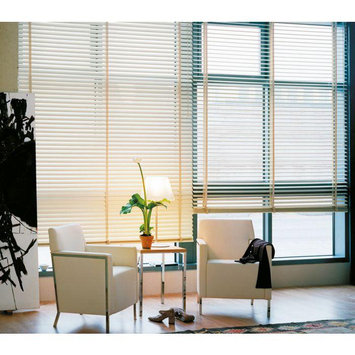Innenjalousien 50mm für große Fensterflächen