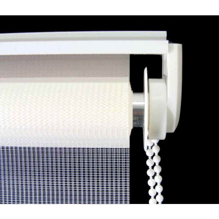 Detailaufnahme Kettenzug und Montageprofil, Deckenmontage