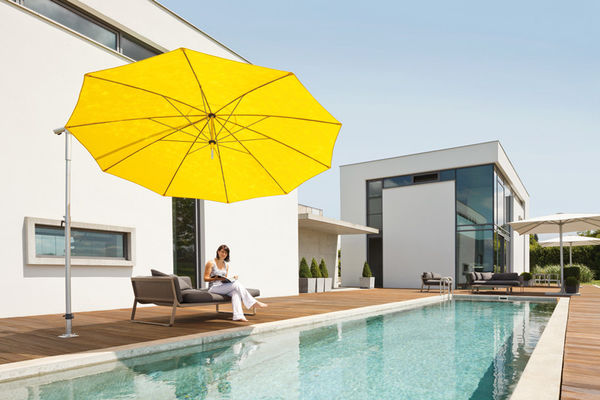 MAY Sonnenschirme für ein Höchstmaß an Produktqualität und Ästhetik