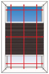 Montagebild für Montage auf dem Fensterrahmen mit Winkeln