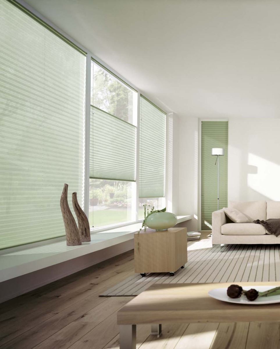 Plissee Transparent Wohnzimmer – Caseconrad.com