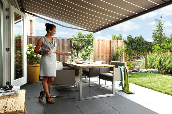 markisen online kaufen dekofactory. Black Bedroom Furniture Sets. Home Design Ideas